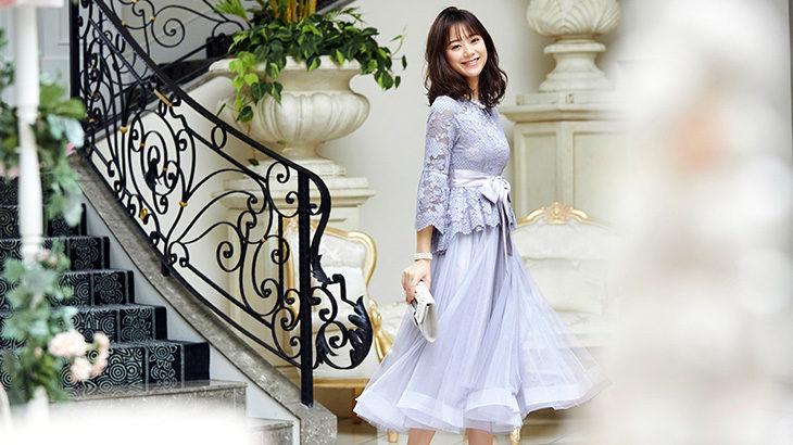 40代女性の結婚式・披露宴のパーティドレスの着こなし方を解説!